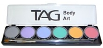 Pastel Palette 6 x 10g Face and Body Paint
